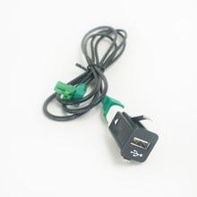 Biurko 150CM USB modernizacji gniazdo kablowe schowek na rękawiczki pomocnicze USB Adapter USB zestaw do bmw F20 F21 F30 F31 F36 G30 G31 F64 F48 F60