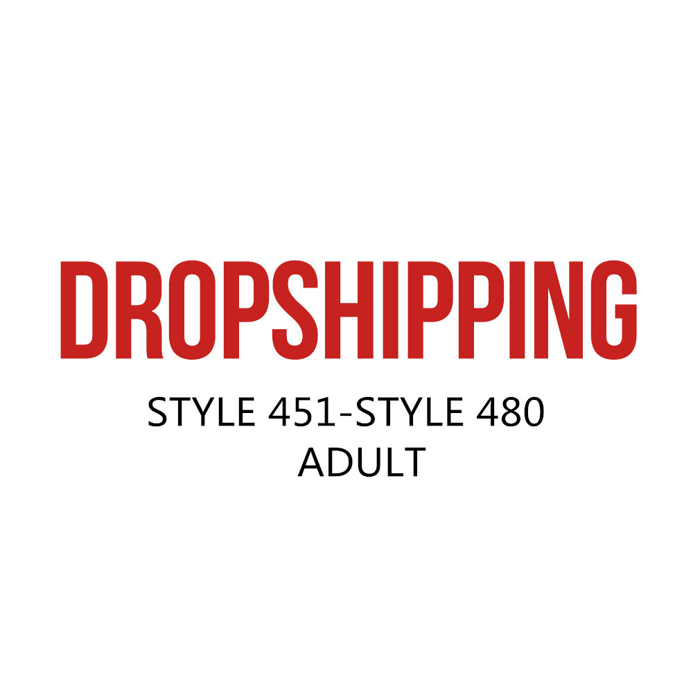 US DROPSHIP LINK ADULT STYLE 451-STYLE 480