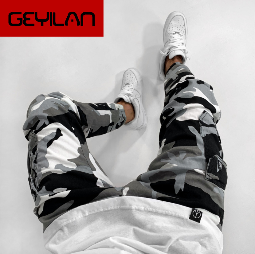 Camouflage Skinny Pencil Jeans Men Pantalones Hombre Jeans Para Hombre Male Slim Denim Cargo Pants Casual Side Pocket Streetwear Buy At The Price Of 19 59 In Aliexpress Com Imall Com