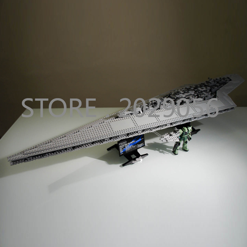 05028 In Stock The Super Star Destroyer Star Movie Wars Series 3125PCS Model Building Blocks Compatible 10221 Children Toys - 2