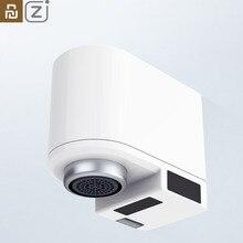 English Version Youpin ZJ Smart Sensor Faucet Infrared Sensor Automatic Water Saver Tap Anti overflow Kitchen Bathroom Inductive