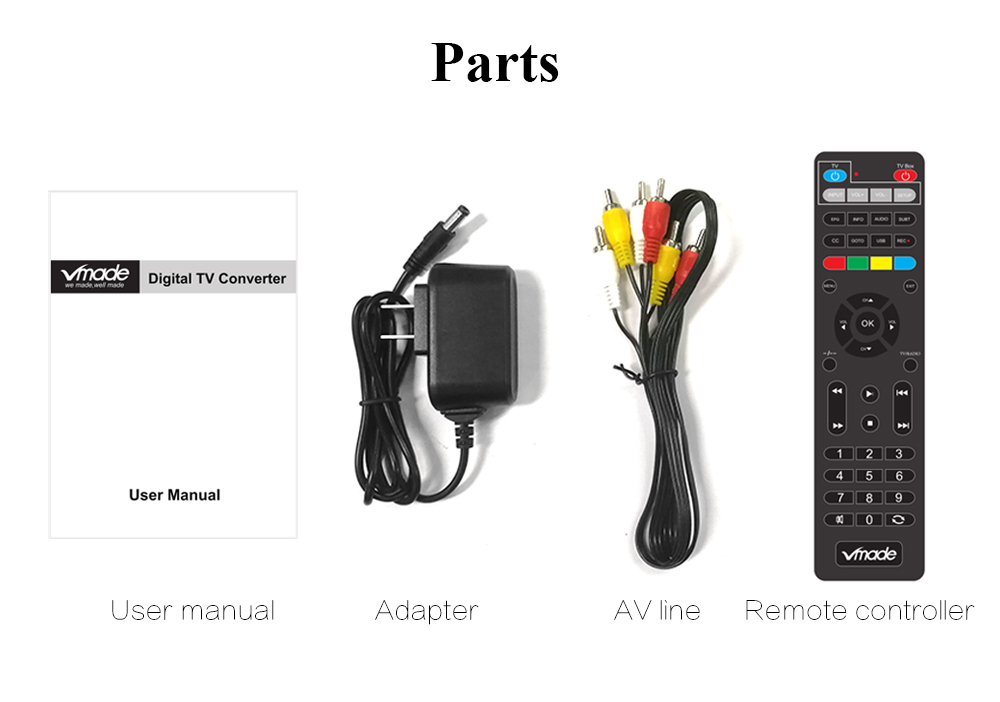 ATSC T terrestrial digital HD TV receiver work at USA Canada Mexico Korea tuner ATSC-T atsc t standard 22