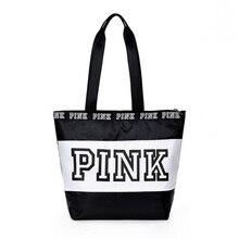 Weekend Travel Tote Bag  Hot-selling Women handbags Pink waterproof fashionable Female shopping shoulder bags handbag