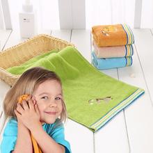 Dziecięcy bawełniany ręcznik prostokąt miękkie chłonne niestrzępiące ręcznik ręcznik dla niemowląt ręcznik noworodka ręcznik kąpielowy tanie tanio 100 bawełna 0-3 miesięcy 4-6 miesięcy 7-9 miesięcy 10-12 miesięcy 13-18 miesięcy 19-24 miesięcy CN (pochodzenie)