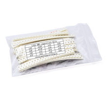 1206 smd capacitor sortido kit 10pf-22uf 16 valores * 20 pces = 320 pces conjunto de capacitores 10p 22p 33p 47p 220p 470p 0.1uf 1uf