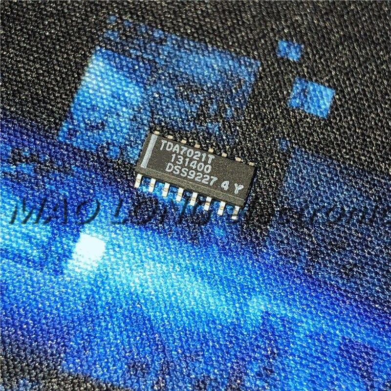 5PCS/LOT  TDA7021T SOP-16 TDA7021 SOP16 7021T SOP New Single-chip FM Receiving Circuit In Stock