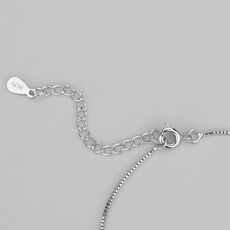 Gelang Rantai Perak 925 Sterling Perak Sterling Perak Murni 925 - Perhiasan fesyen - Foto 2