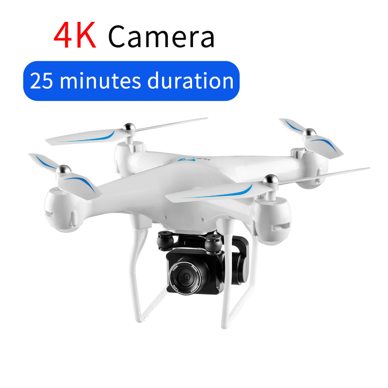 25mins Standby Time RC Drone 4K Quadcopter Folding UAV FPV Wifi Image Transmission Foldable Altitude Hold Helicopter