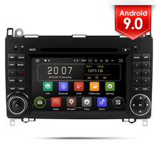 Car DVD Touch Screen Radio Two Din Bluetooth Multimedia Player Stereo For Mercedes Benz Sprinter B200 W245 B170 W169