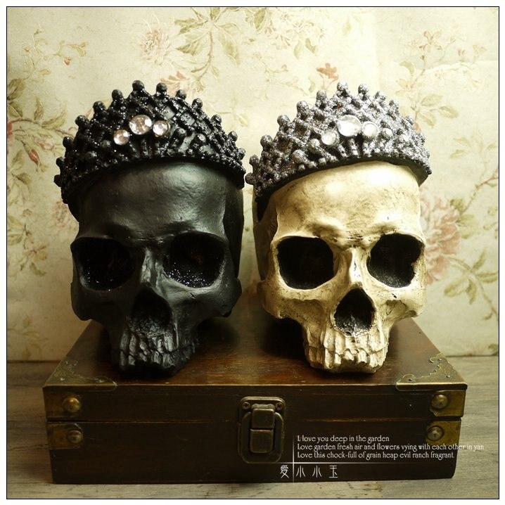 Gothique église ornements Rock Punk hanté maison accessoires chambre décoration accessoires résine Cabochon