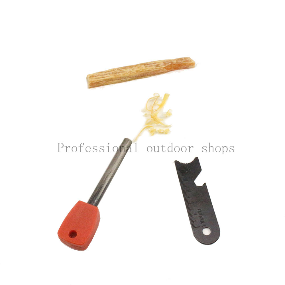 Mini Combustion Aid Pine Oil Firewood With Iron Box Firing Lighting Outdoors Windproof Wetproof Survival Camping Accessories