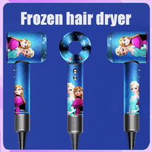 Hair-Dryer Leafless Negative-Ion New Hollow Constant Disney Wired Frozen Temperature-Adjustment