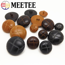 Classic fashion leather coat buttons turtle face high-grade windbreaker casual suit