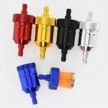 5 цветов 8 мм бензиновый газовый топливный фильтр очиститель