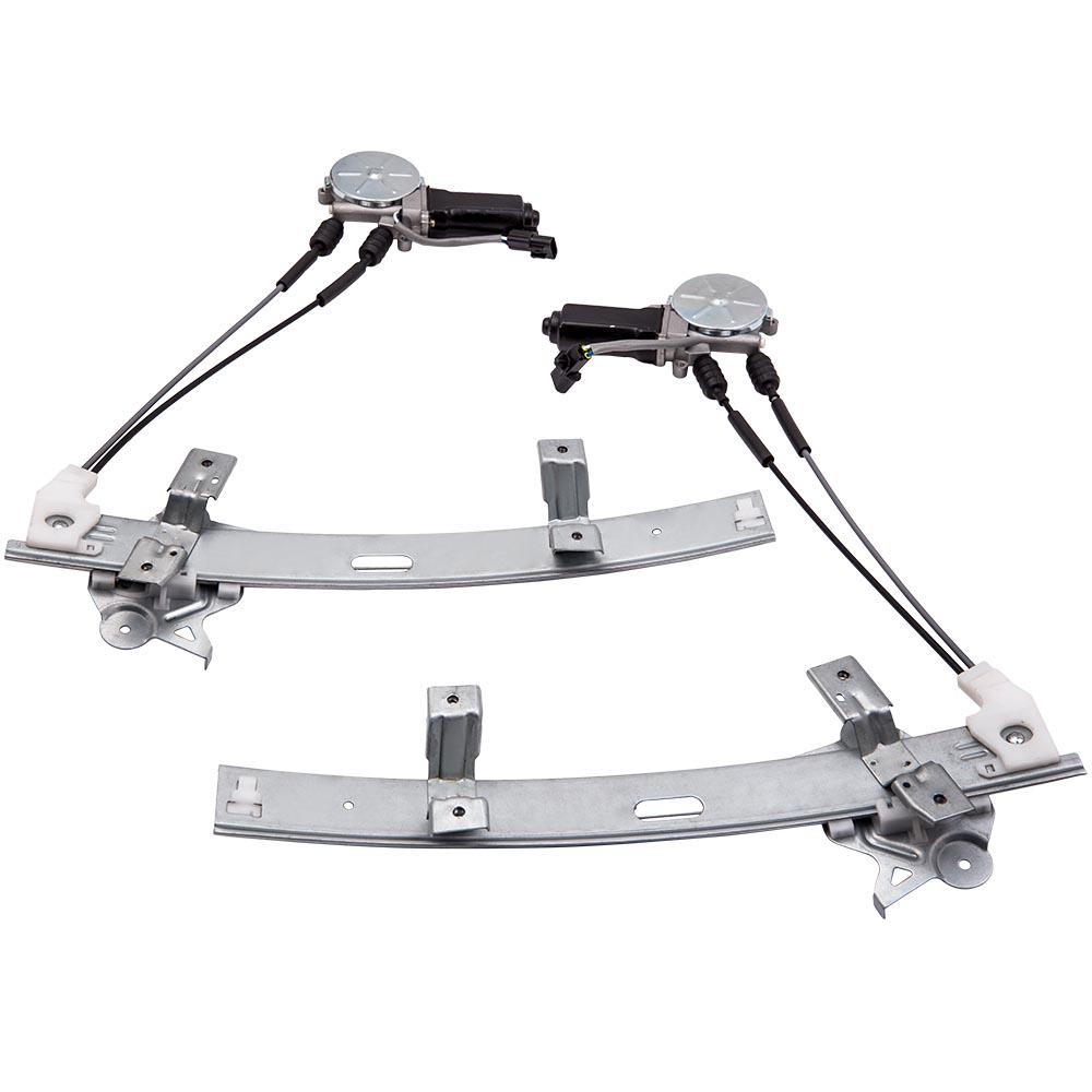 2x Front Power Window Regulator Fit Mitsubishi 3000GT 91-96 With Motor For MB641281 MB641282