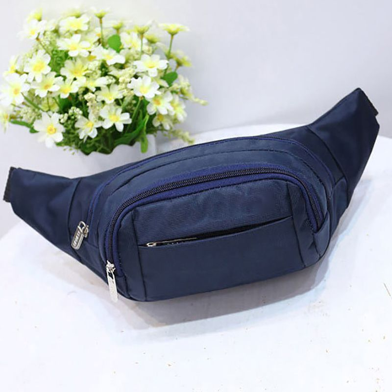 Unisex Fashion Leisure Chest Bag Multi-function Outdoor Waterproof Running Pocket Practical Mobile Phone Bag Pouch Fanny Pack