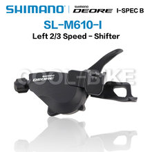 Shimano deore m610 i spec-b SL-M610 shift 2x10 / 3x10 velocidade alavanca conjunto shifter trail mtb r + l 2/3x10 velocidade rapidfire