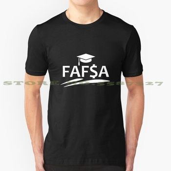 Fafsa Fashion Vintage Tshirt T Shirts Fafsa Federal Student Aid Free Application Universty College Fee Fees Poor Airpods image
