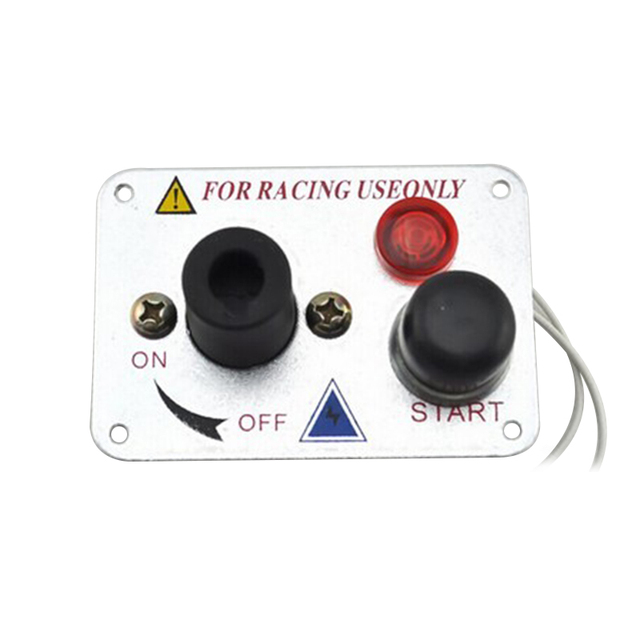 $ 22.09 20A 12V Car LED one-button start ignition car circuit modification combination switch