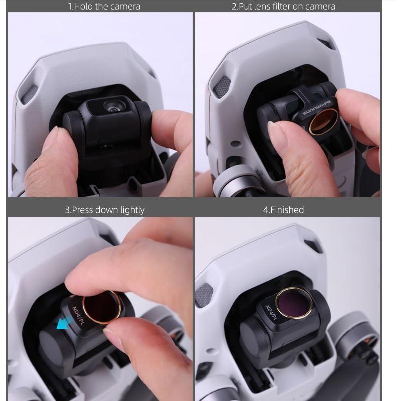 Dji Mavic Mini 2 Camera Lens Filter Mcuv ND4 ND8 ND16 ND32 Cpl Nd/Pl Filters Kit Voor Dji mavic Mini Drone Accessoires 5