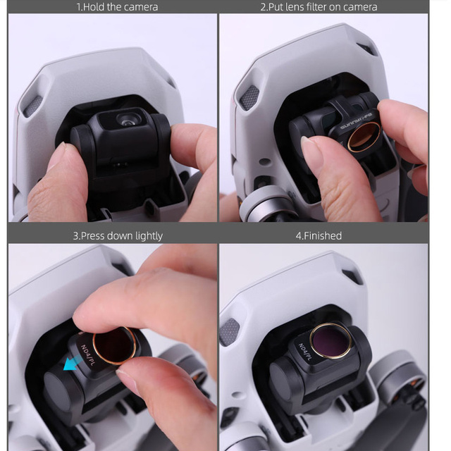 Camera Lens Filter MCUV ND4 ND8 ND16 ND32 CPL ND/PL Filters Kit for DJI Mavic Mini Drone Accessories