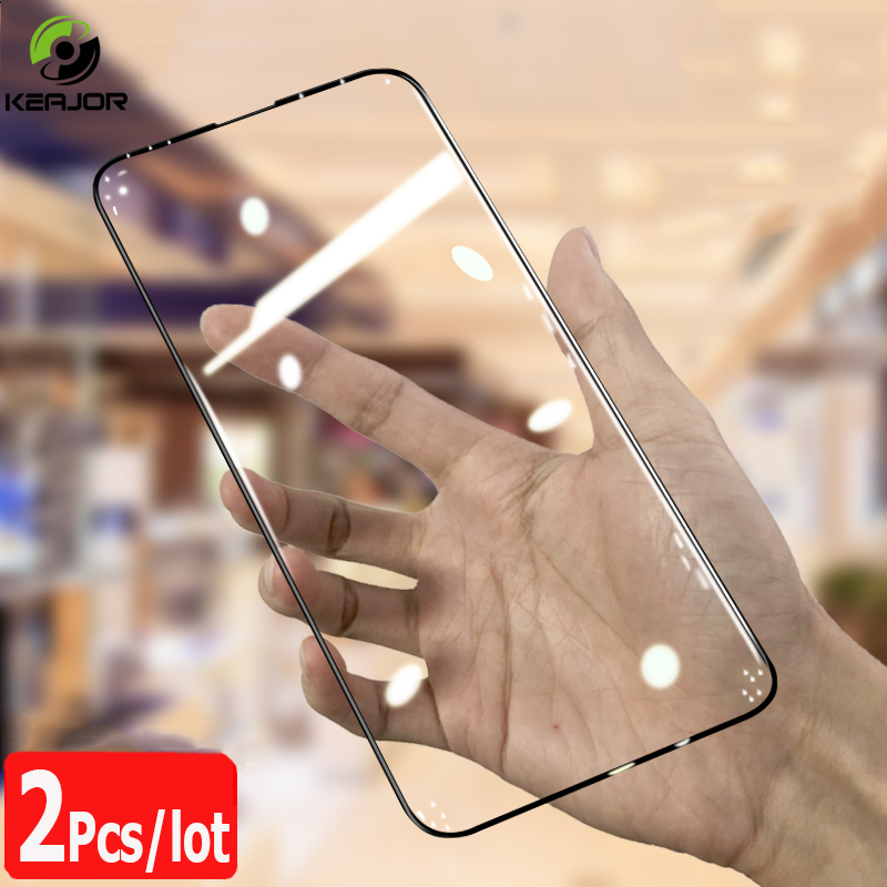 2pcs Glass For Xiaomi Mi 9T Tempered Glass 9HD Full Cover Film Scratch Proof Screen Protector For Xiaomi Mi 9t Pro Mi9t Glass