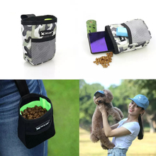 Portable Training bag Dog Pet Snack Bag Supplies Strong Wear Resistance Large Capacity Puppy Snack Reward Waist Bag For Dog Cat