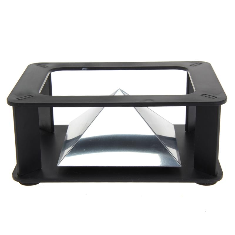 3D Hologram Application Projector Display Type Indoor Pyramid Hologram Display Pyramid Projector Luxury Showcase For Smartphone