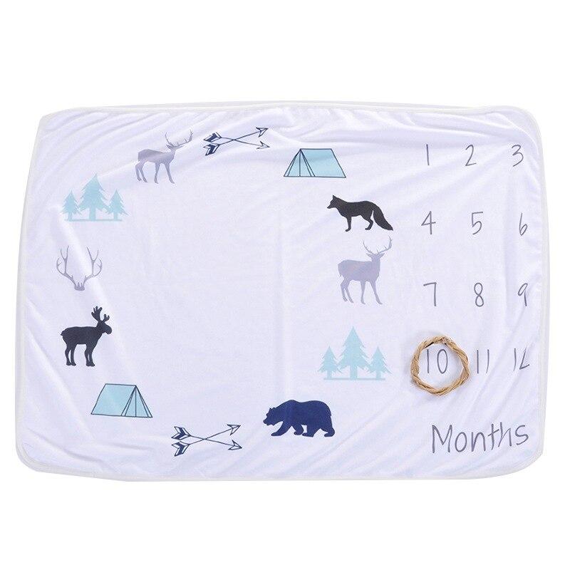 Детское одеяло, фон, одеяло, новорожденные реквизиты для фотографии, младенческий ковер для маленьких мальчиков и девочек, реквизит для фотосессии, аксессуары для фотосессии - Цвет: G3-102X76CM