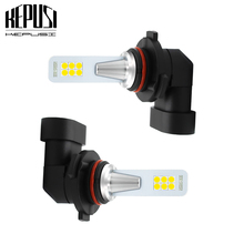 2x 9006 HB4 Led Fog Light Bulb Auto Car Motor Truck led bulb 12w 12V 24V White 3030 12smd Driving Running DRL