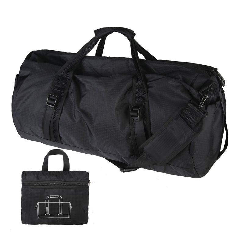 Foldable Lightweight Large Capacity Luggage Sports Duffel Bag Handbags Shoulder Bags For Men Women