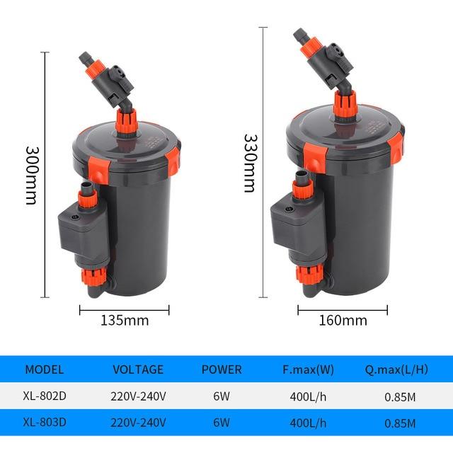 External Aquarium Pump - Super Quite & Durable  6