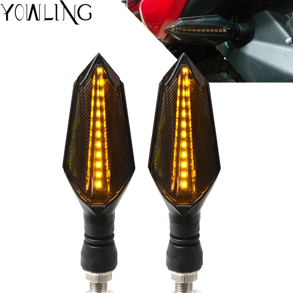 For HONDA <font><b>CRF</b></font> 150 230 250 <font><b>450</b></font> 1000 R RX X F L M RALLY L Motorcycle LED Turn Signal Light Indicators Amber Blinker Light Flashers image