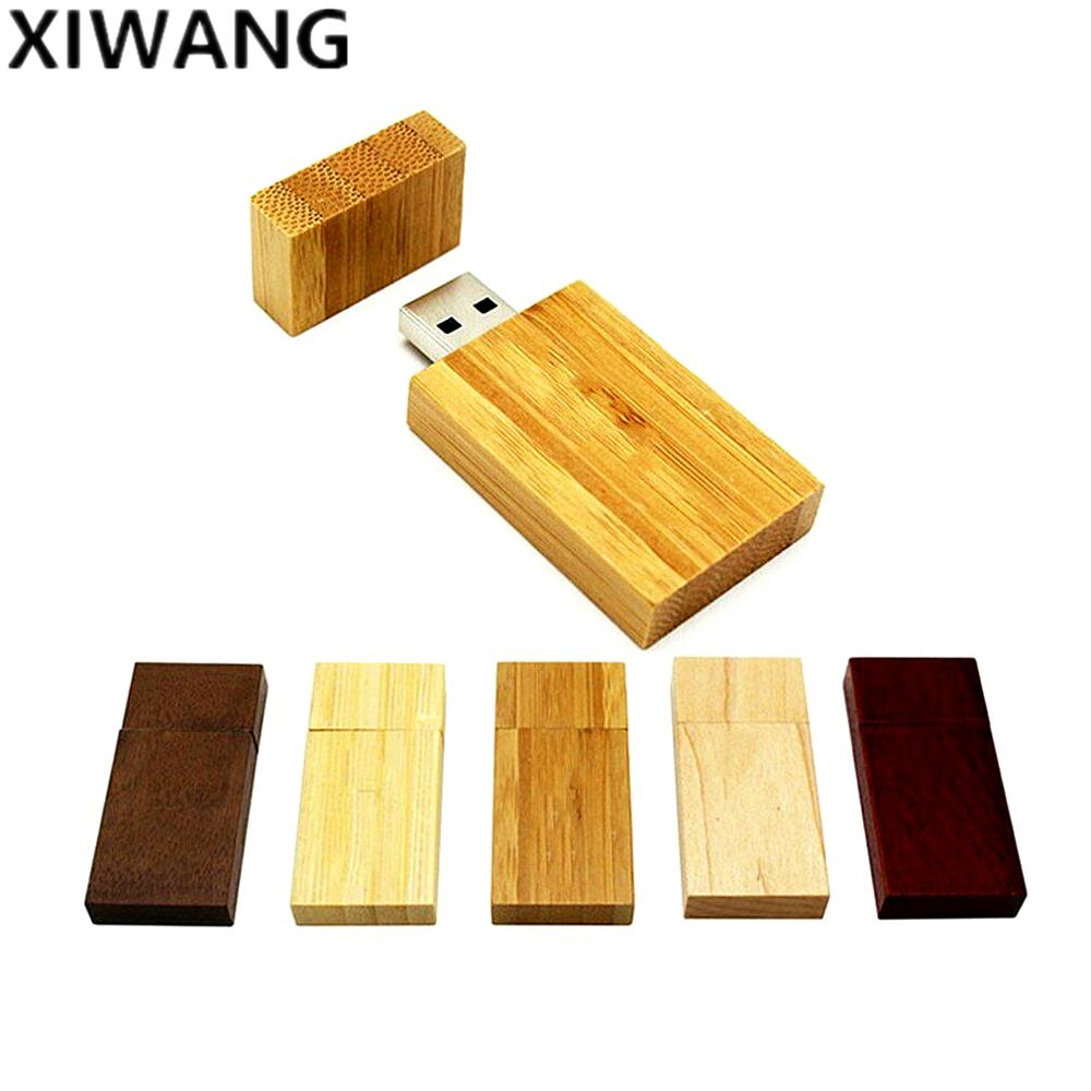 Image 5 - nature Wood USB flash drive 128gb new usb disk 2.0 4GB 8GB 16GB 32GB 64GB pen drive pendrive wedding gift Laser Free Custom logo-in USB Flash Drives from Computer & Office