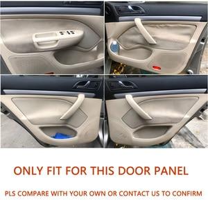 Image 5 - For Skoda Octavia 2007 2008 2009 2010 2011 2012 2013 2014 Front/Rear Pair Car Door Handle Armrest Panel Microfiber Leather Cover