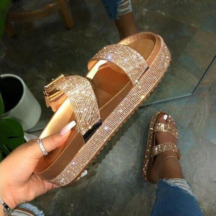 Women Sequins Sandals