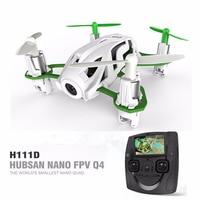 Hubsan H111D Q4 FPV 5,8G con cámara HD 720P, Dron cuadricóptero RC, avión RTF Rc, juguetes al aire libre para niños, Modo para mantener la altitud
