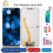 """6.3""""100% Tested Huawei Nova 3 3i LCD Display Touch Screen Digitizer Assembly LCD Display for Huawei P Smart Plus Repair Parts"""