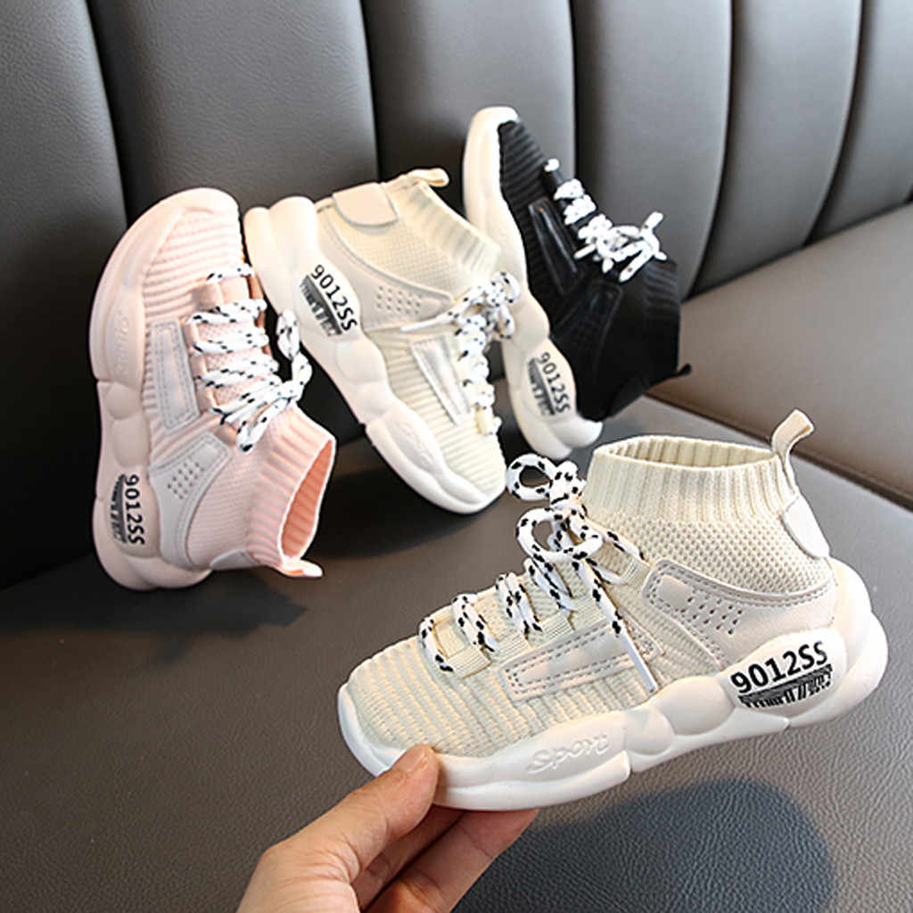 New Baby Sneakers Children Girls BoysToddler Leisure Outdoors Casual Shoes Breathable Children's Mesh Sneaker 15M-11.5 Yeas Old