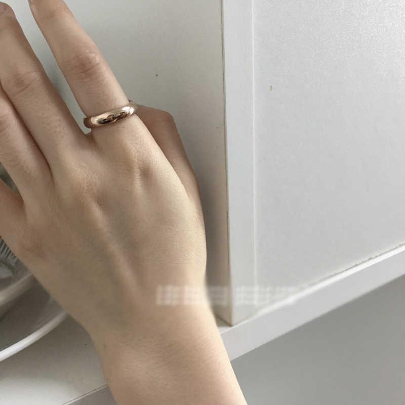 """באיכות גבוהה 6 מ""""מ סיטונאי פשוט טבעת אופנה עלה זהב טבעת גברים של ונשים של בלעדי זוג חתונה טבעת עם 18K לוגו R034"""