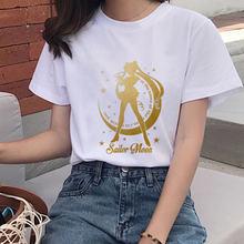 90s в Корейском стиле Стиль футболка графичный топ для женщин