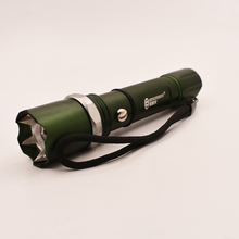 Strong Bright LED Zooming Mini Flashlight Lotus Head with Prickly Head 3 Switch Modes Torch T6 18650 Battery for Camping Explori