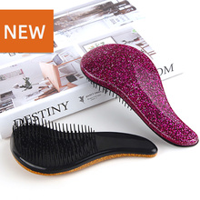 Portable Fashion Plastic Comb Tooth Scalp Massage Hair Styling Tools