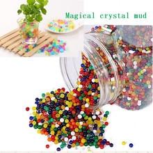 100/500pcs/bag crystal soil hydrogel gel polymer water pearl flower/wedding/decoration growth mud pot plant cultivation