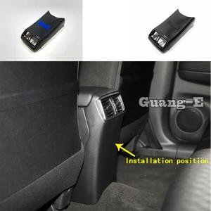 Car Garnish Rear Back Upside A