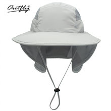 Солнцезащитная шляпа outfly с широкими полями для мужчин и женщин