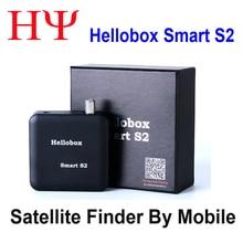 Hellobox Localizador inteligente S2 DVB S2, buscador de atellite, BT, mejor satlink, ws 6906, ws693, buscador de Freesat, BT01, V8 finder