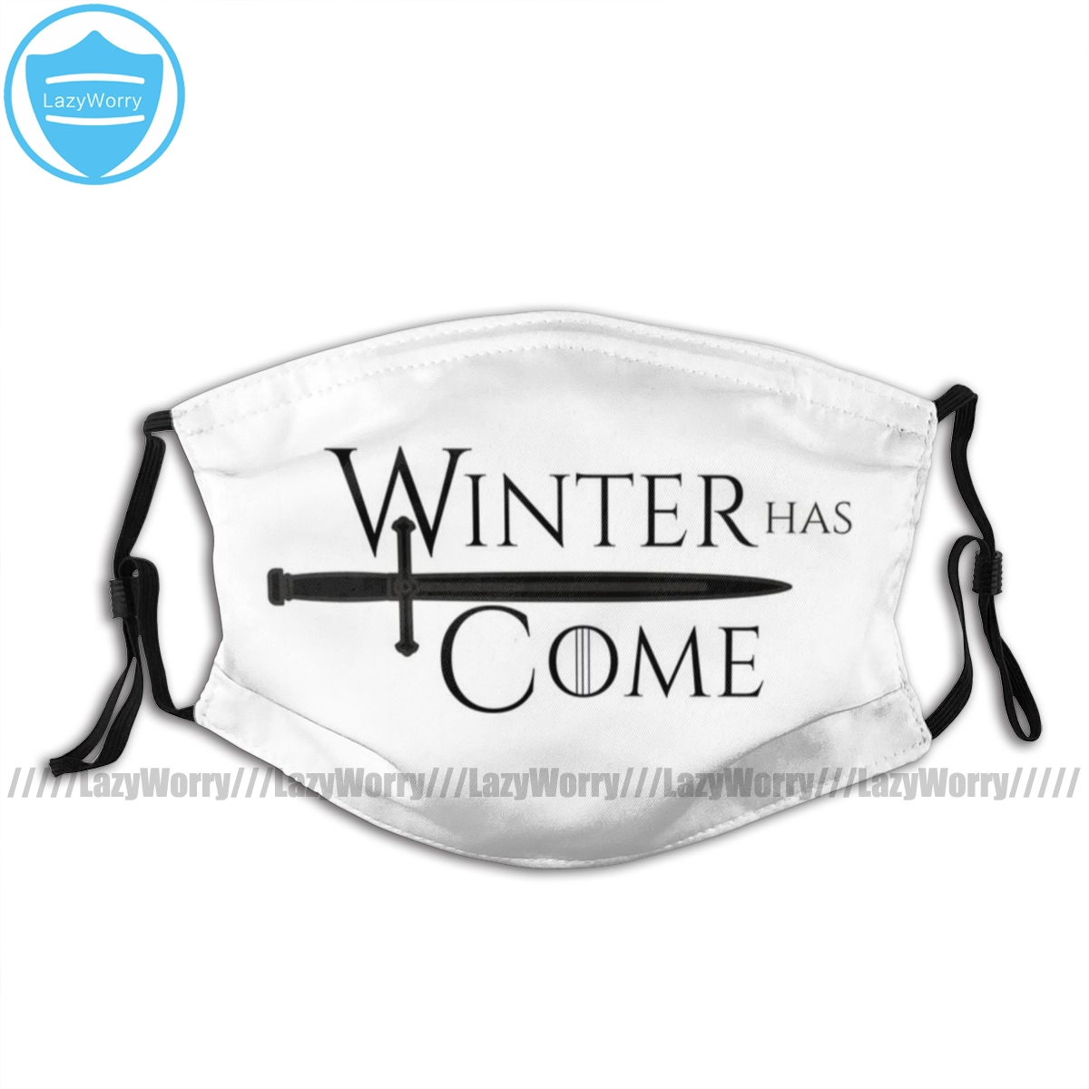 Game Of Thrones Mouth Face Mask Game Of Thrones Winter Has Come Facial Mask Kawai Funny With 2 Filters For Adult