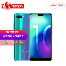 Global Version Honor 10 Smartphone 4GB 128GB Kirin 970 Octa Core 24MP AI Camera 5.84'' Fingerprint
