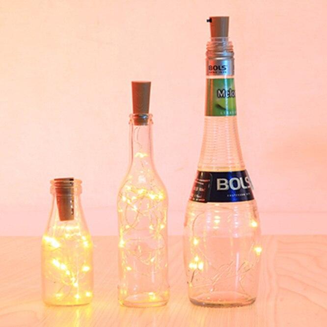 3 jahre garantie 10sets Solar LED Wein stopper Cork Geformte 20 LEDs Nacht Fee String Licht Wein Flasche Lampe party Feier